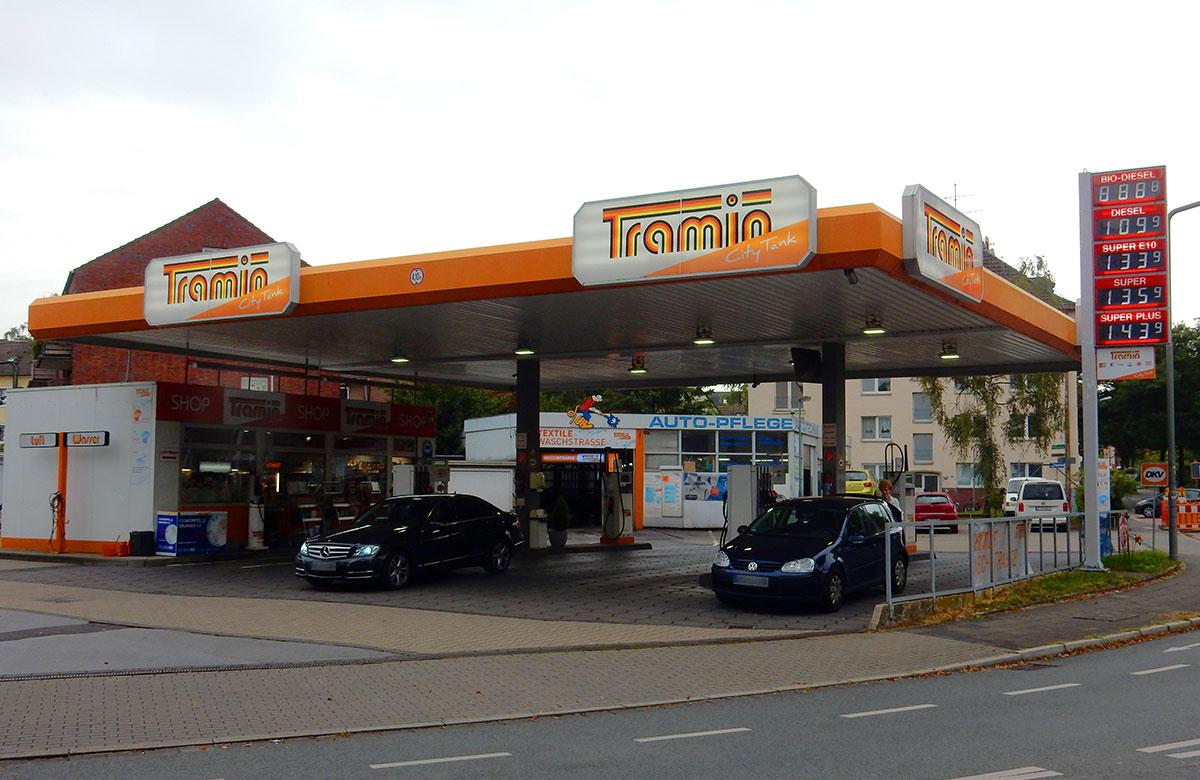 Tramin Tankstelle Ratingen