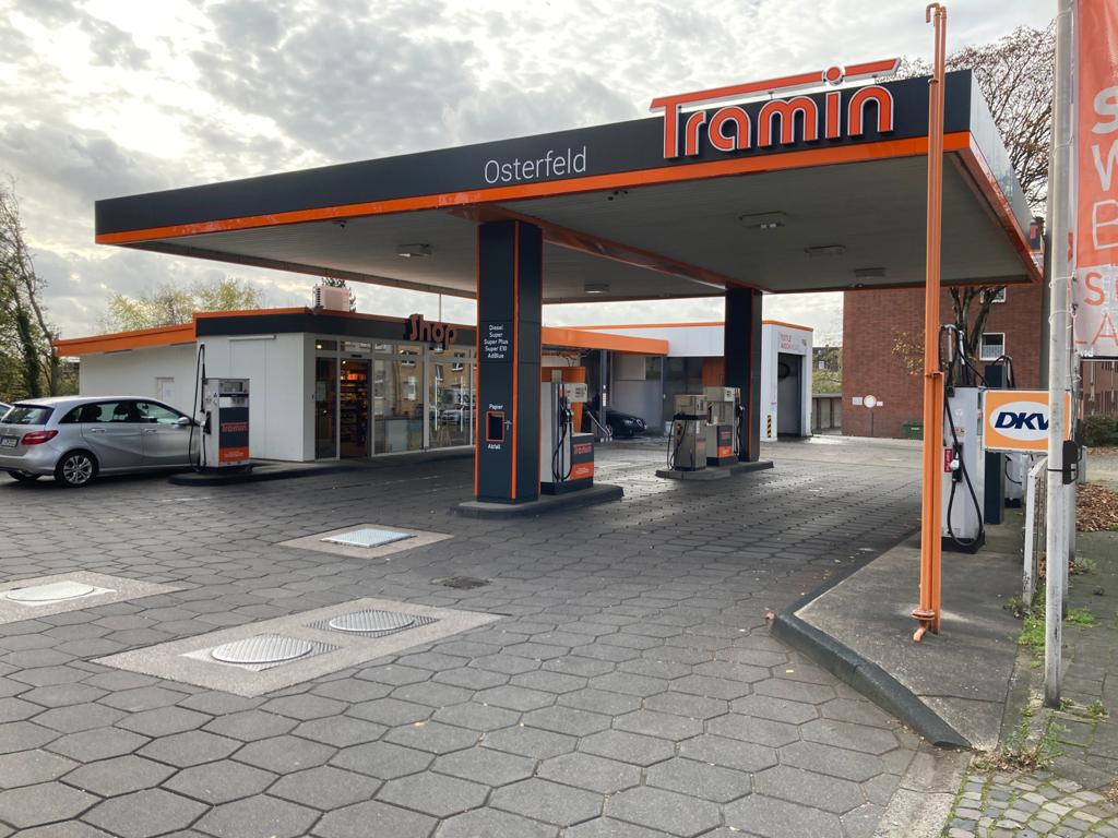 Tramin Tankstelle Osterfeld